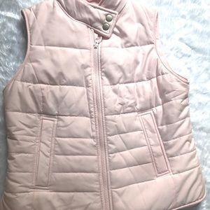 Light Pink Puffy Vest. Size Small Vest. Ann Taylor